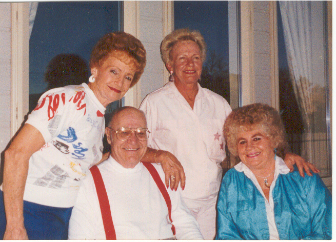 1998 Andra Reunion, Milie and Vance Beck, Sergene Jensen, Colleen Lloyd.