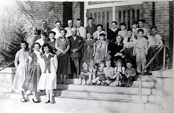 1955 Coley Reunion, Richmond, Utah