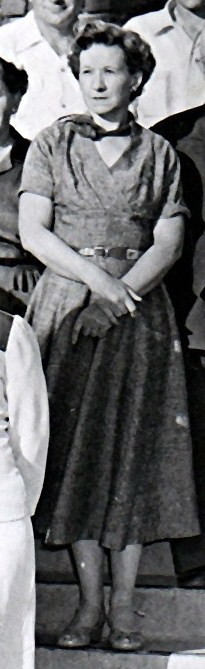 Clara at a Coley Reunion in 1955