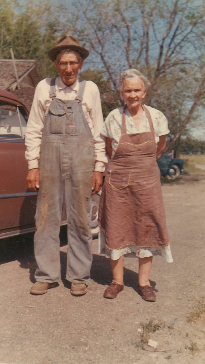Joseph and Sarah McMurdie in 1960