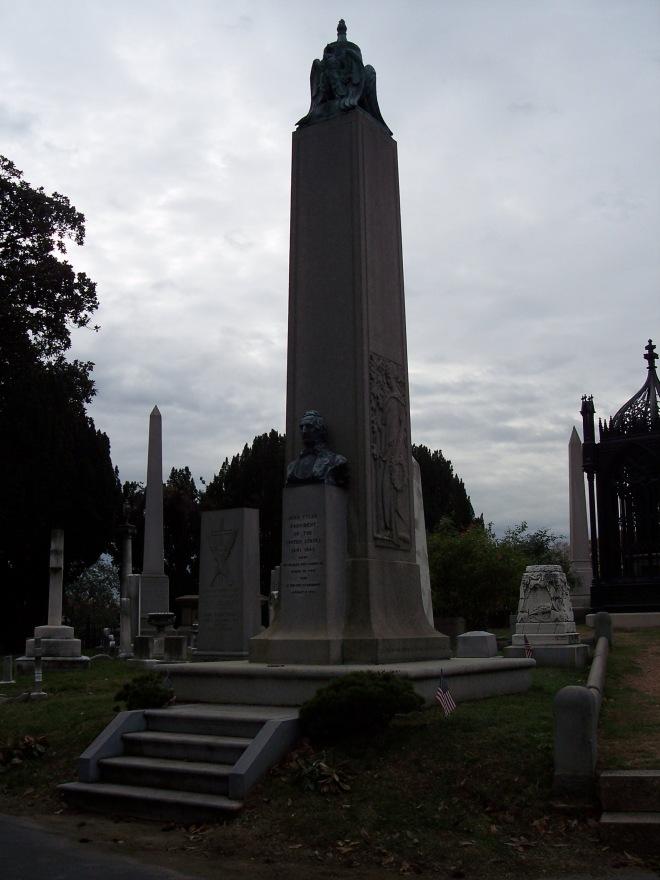 John Tyler Grave