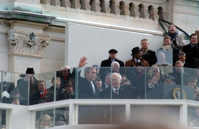 Bush and Cheney Inauguration in 2008