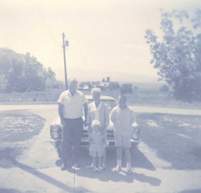 Bert, Sergene with Jackie Jonas in front, and Andy Sorenson about 1964