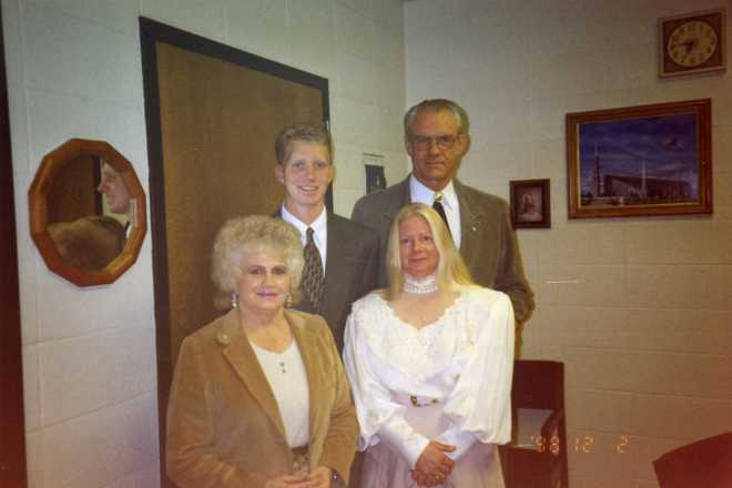 The morning to go to the MTC with Milo Ross, Colleen Lloyd, and Jackie Melycher (aunt)