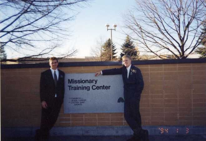 Kody Young and Paul Ross, companions at MTC
