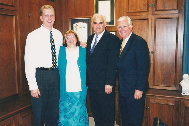 Paul Ross, Rosie and John Byrom, Elder Ballard