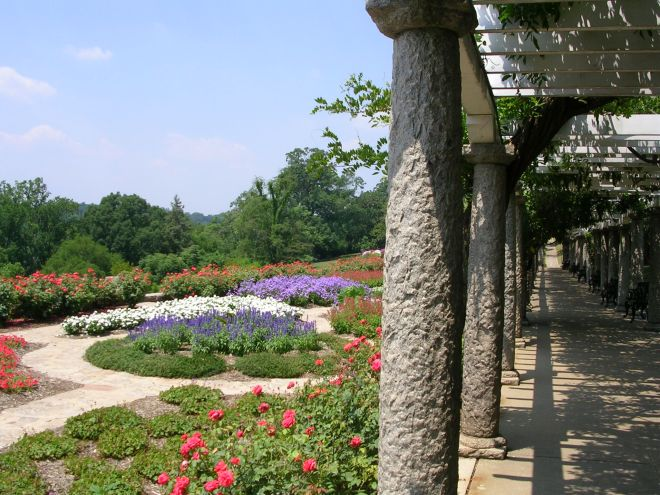 Part of the gardens at Maymont in Richmond, Virginia.