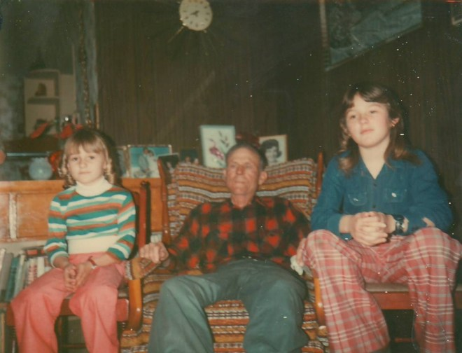 Nichol Harms, Ivan, Alisa Harms on 6 March 1977