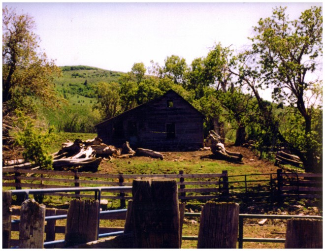 Coley Cabin near Richmond, Utah