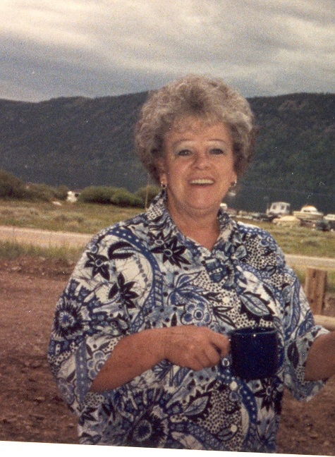 Betty with cup