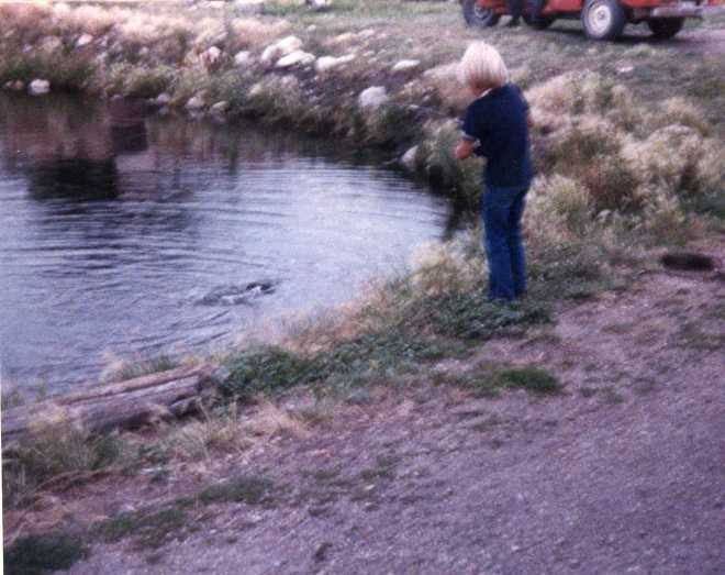 Paul Ross fishing mid 80's
