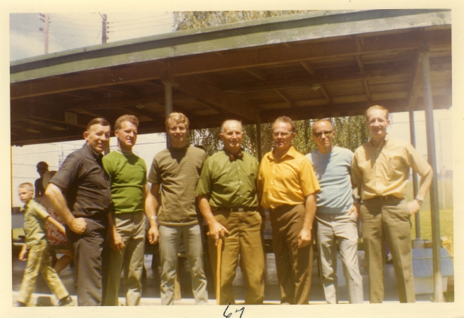 1960s Reunion: William, Donald, Larry, Bill, Golden, Dale, Ross