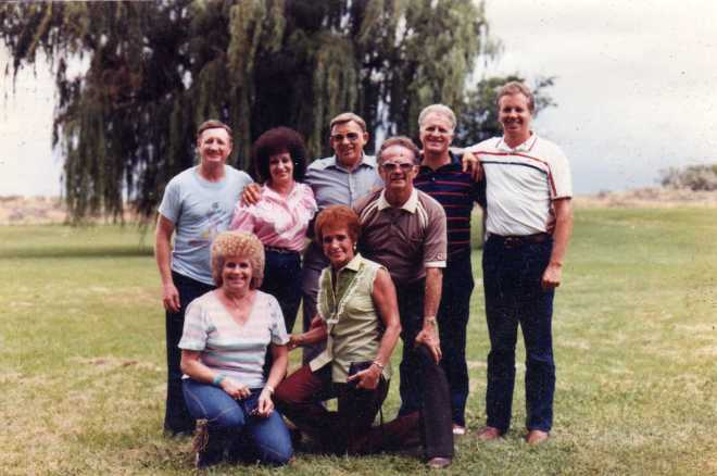 1984 Reunion: Ross, Colleen, June, Millie, William, Golden, Donald, Larry