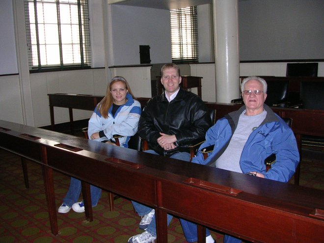 2008: Congress Hall, Philadelphia, Pennsylvania; Amanda and Paul Ross, Donald