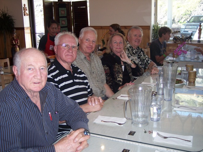 2010 Reunion: Ross, Donald, Larry, Sergene, Neil Anderson