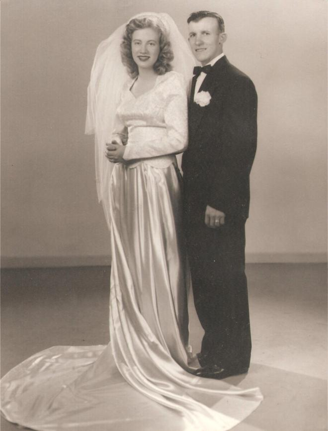 Edith and William Andra Marriage Portrait